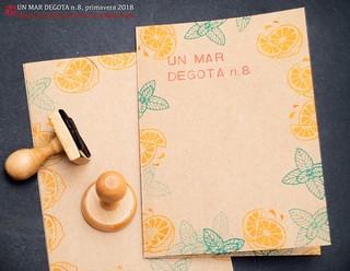 Un mar degota n.8, revista d'autor de Ferran Cerdans Serra, primavera 2018