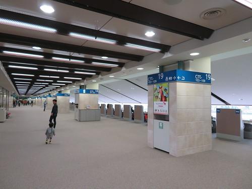福島競馬場の5階指定席エリア
