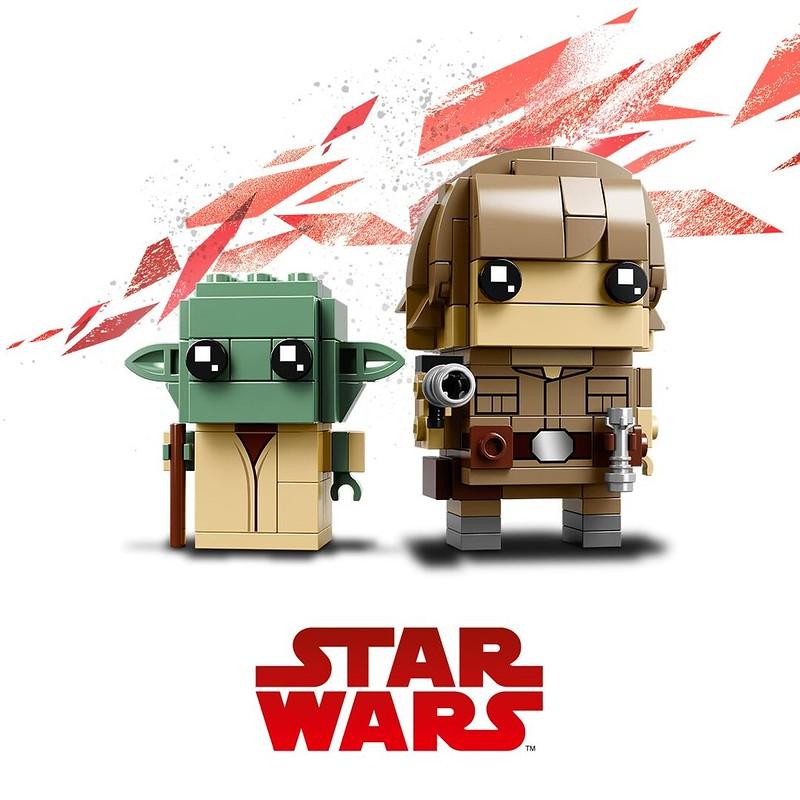 41627 Yoda and Luke Skywalker