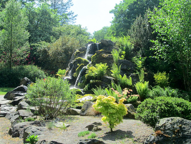 cascade at Threave Gardens