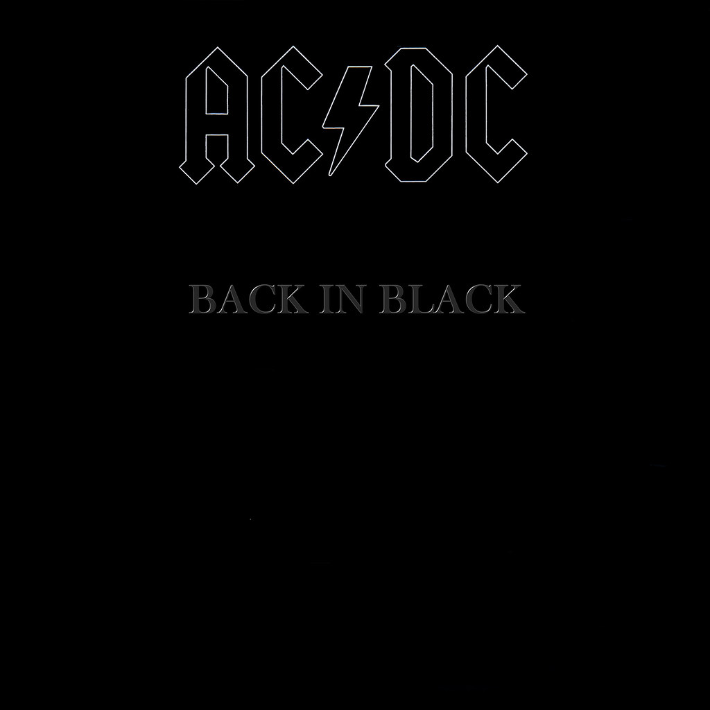 AC DC ‎– Back In Black