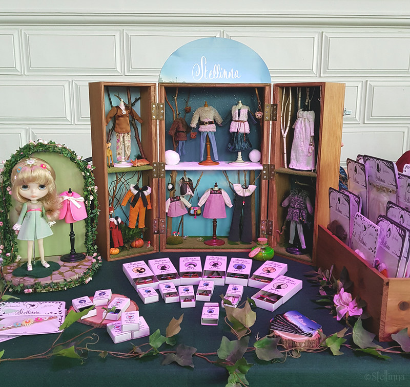 My stall at Blythecon Europe in Brussels