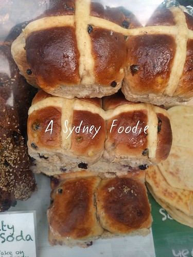 Paddy the baker - hot cross bun