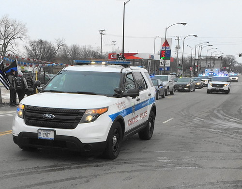 Chicago Police Commander Paul Bauer's Funeral