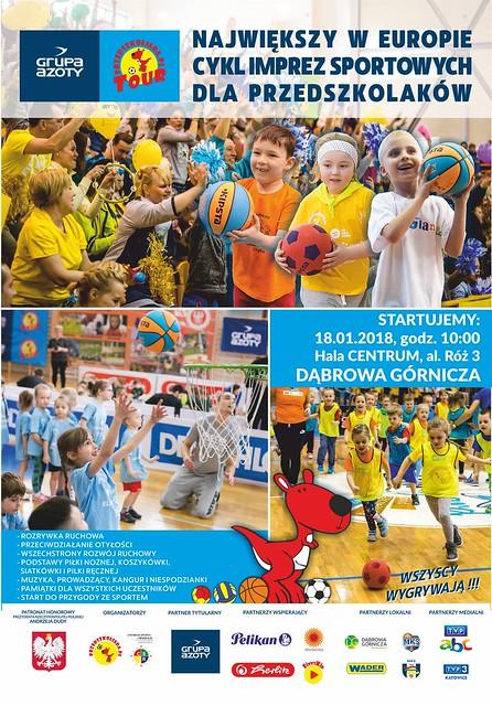 Plakat GAPT2018 - Dąbrowa Górnicza-2