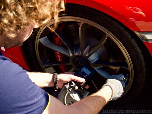 MICHELIN Track Connect en Ferrari F488 GTB et Porsche GT3