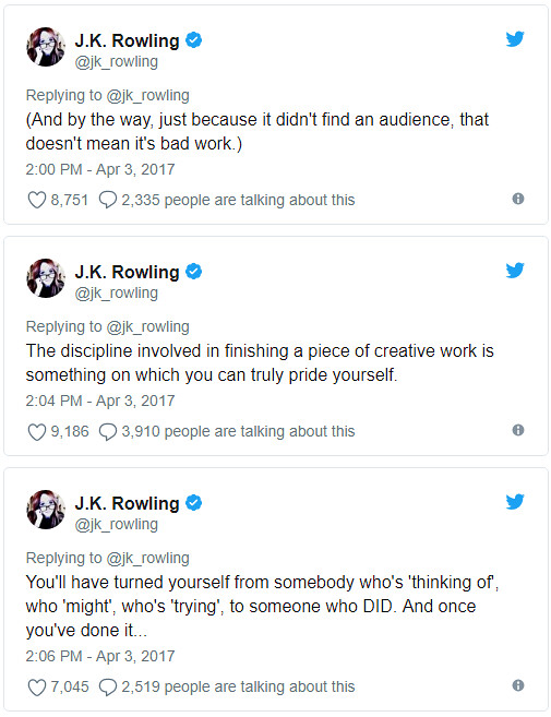 jkrowling advice 2