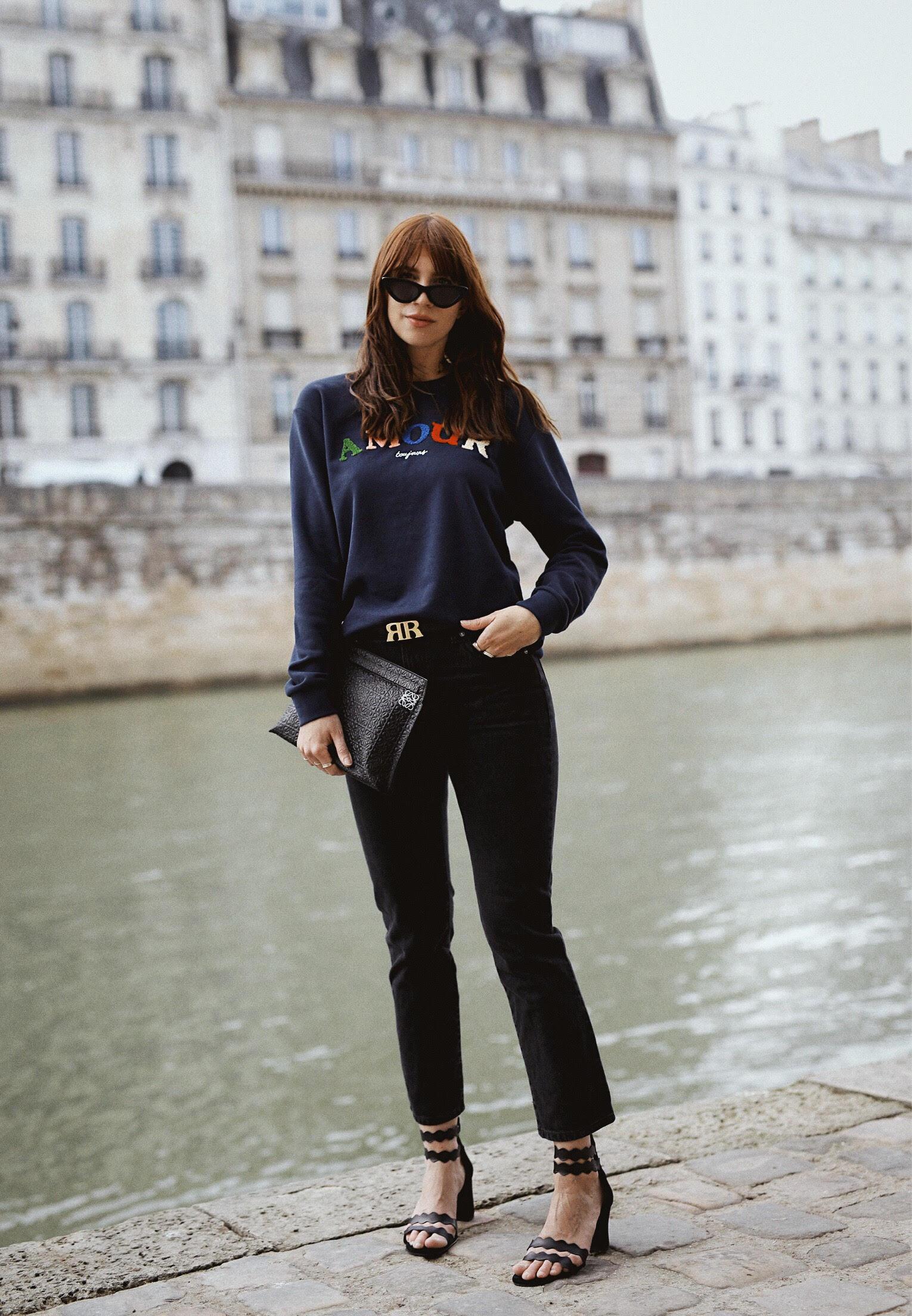 outfit paris other stories paris amour toujours sweater mint&berry sandals rouje jeans lesfillesenrouje catsanddogsblog ricarda schernus max bechmann fotografie film 2