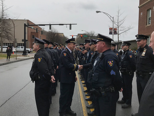 03-30-18 Assistant Police Chief VanBramer Walkout Ceremony