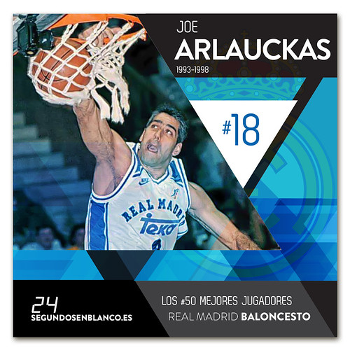 #18 JOE ARLAUCKAS