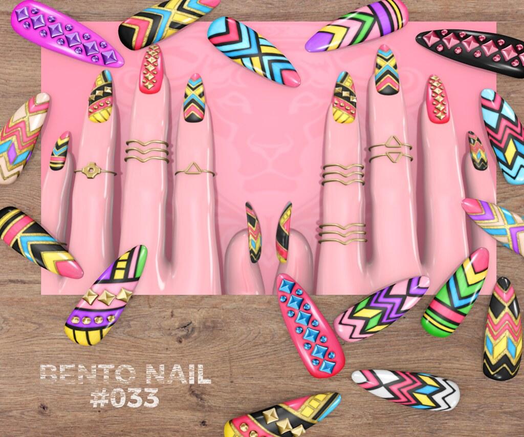 Bento Nail #033 - TeleportHub.com Live!