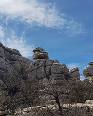 Stone hills, valleys and canyons. Amazing nature. #eltorcaldeantequera #spaintravel #Andalucia2018