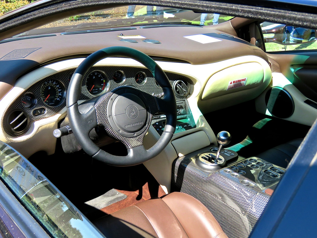 Brown Lamborghini Diablo 6.0 Amelia RM 3
