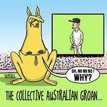 Australians groan...