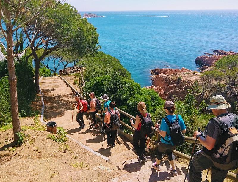 Excursió de Sant Feliu a Platja d'Aro
