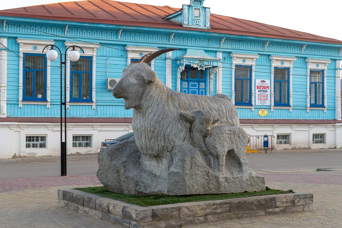 Памятник козе урюпинск фото 3