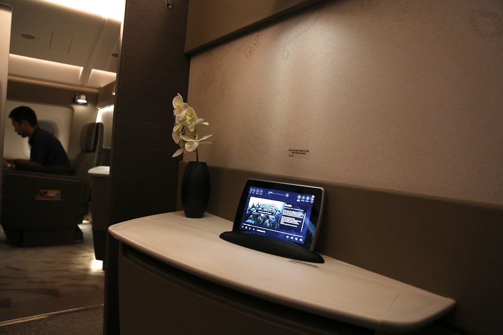 Singapore Airlines First Class Suites 44