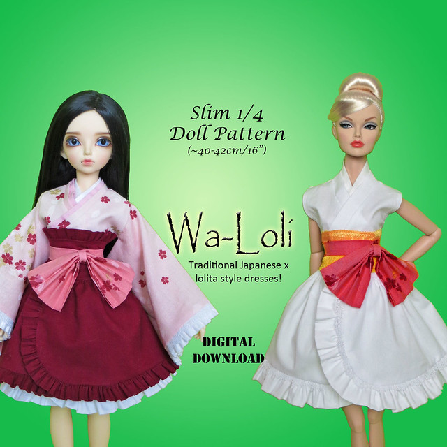 Slim MSD Wa-Loli kimono