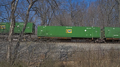 EMP Freight Car Containers -- Norfolk Southern Line at Thoroughfare Gap (VA) March 2018