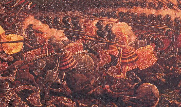 French Gendarmes in the Italian Wars