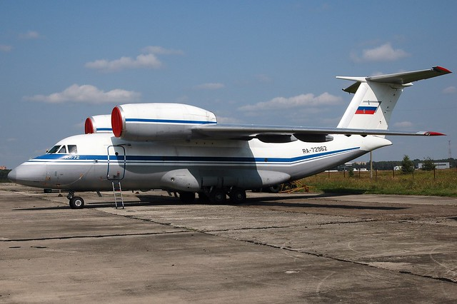 Russian Air Force An-72, Nikon D70, AF Zoom-Nikkor 28-80mm f/3.3-5.6G