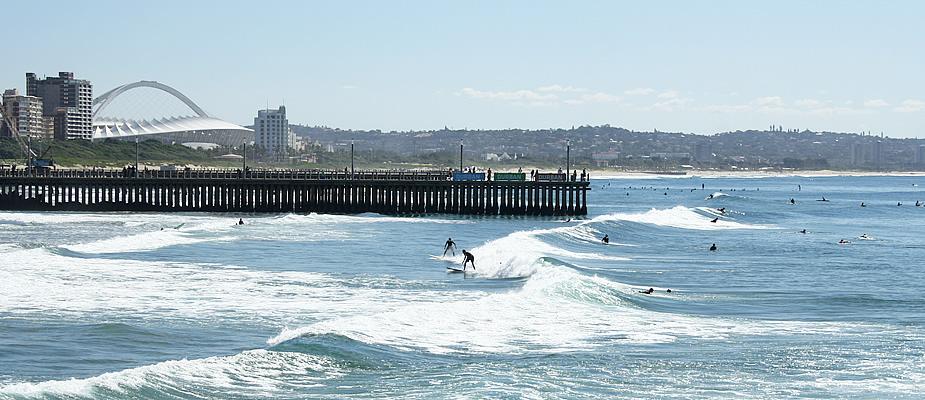 Surfen in Zuid-Afrika: Durban | Mooistestedentrips.nl