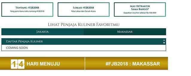 festival jajanan bango 2018 di makassar