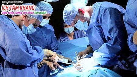 Điều trị suy tim bằng phẫu thuật