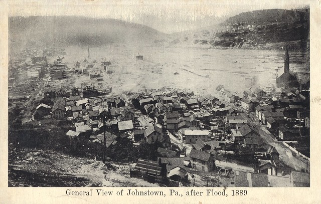 Flood of 1889 - Johnstown, Pennsylvania