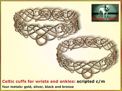 Bliensen - Celtic cuffs