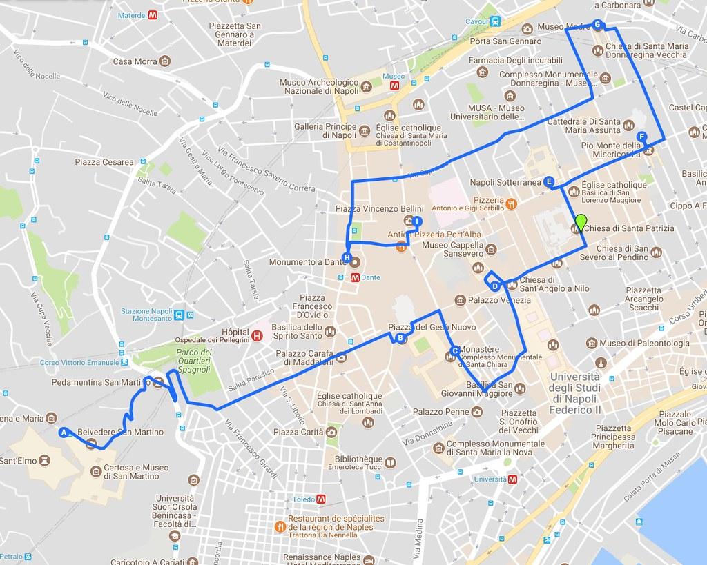 Jour 1 àNaples : Itinéraires à travers la Vieille Ville (Centro Storico)