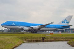 City of Freetown KLM Royal Dutch Airlines PH-BFF Boeing 747-406M cn/24