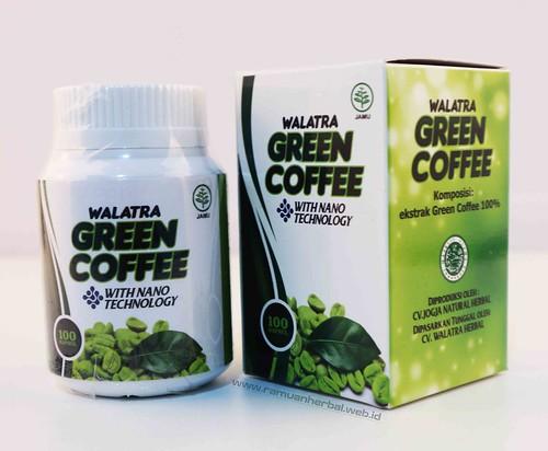 Harga dan Cara Pemesanan Pelangsing Badan Walatra Green Coffee