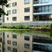 Flats reflected in Regents Canal