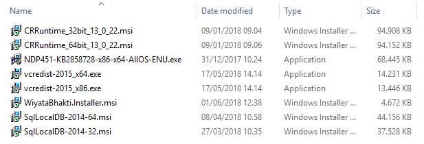 Folder Setup Bootstrapper