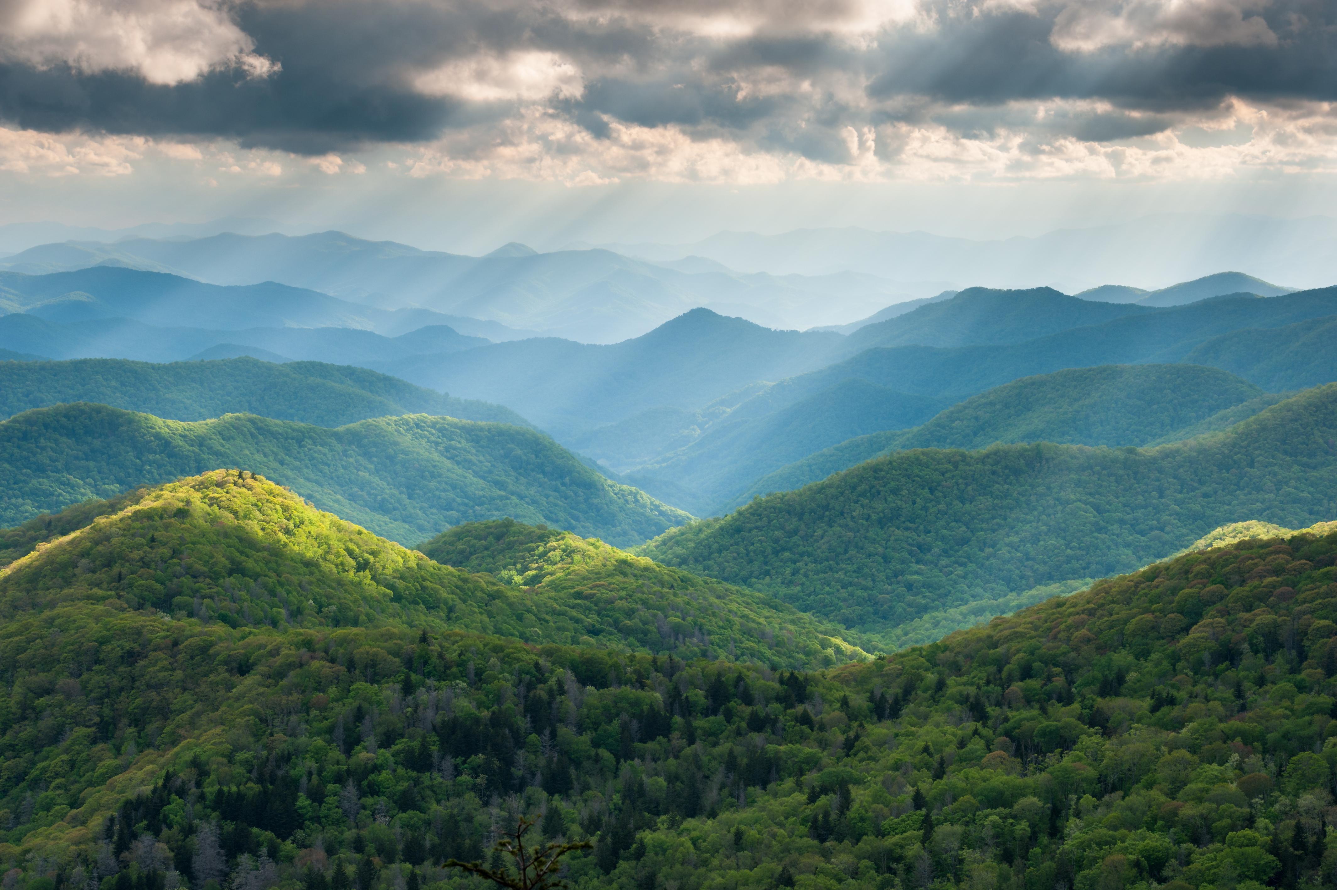 Great Smokey Mountains National Park, Tennessee-North Carolina