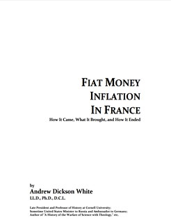 Fiat Money Inflation in France book cover
