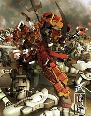 Gundam Art - Shin Musha Gundam: Dramatica