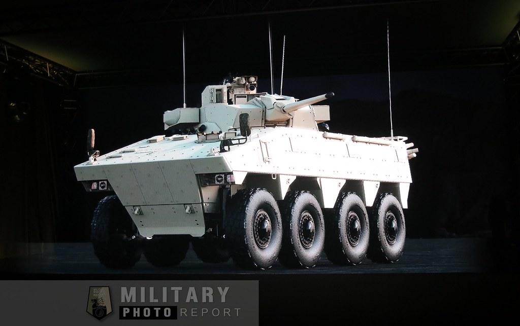 VBCI avec tourelle T40 en démo 3D