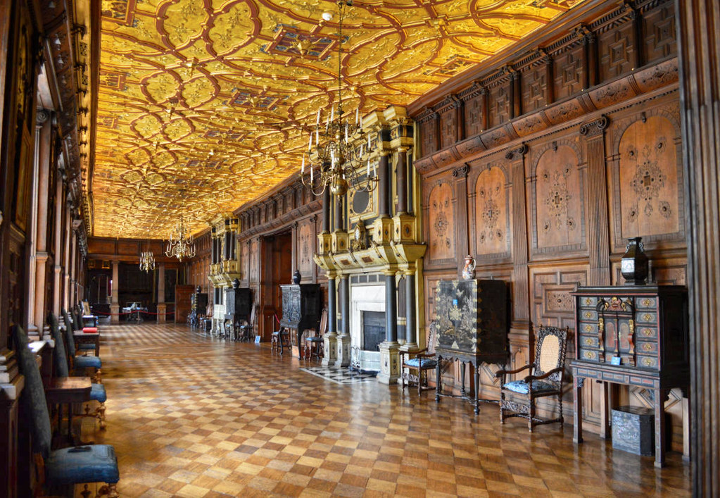 The Long Gallery at Hatfield House, Hertfordshire. Credit Matt Brown