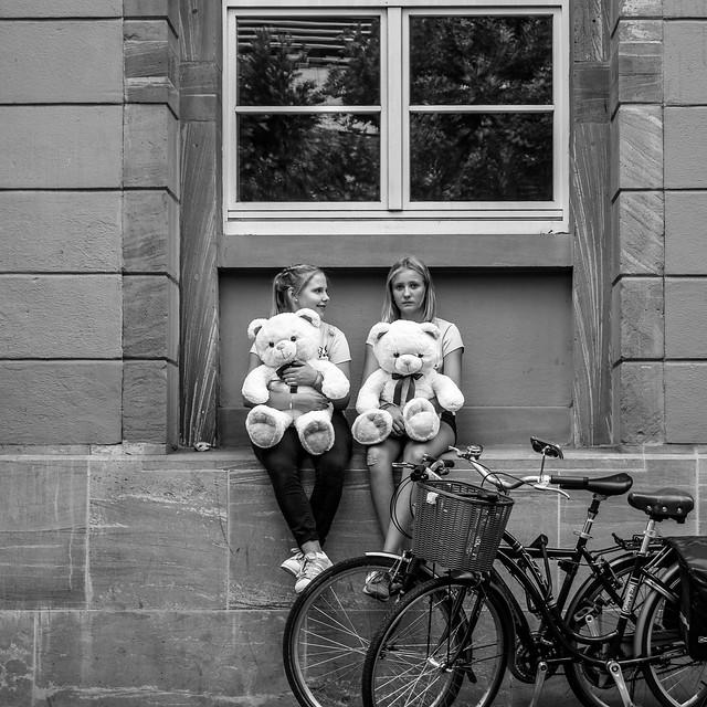 Girls with Bears, Panasonic DMC-GX7, LUMIX G VARIO 14-42/F3.5-5.6 II