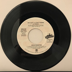 CECE PENISTON:WE GOT A LOVE THANG(RECORD SIDE-A)