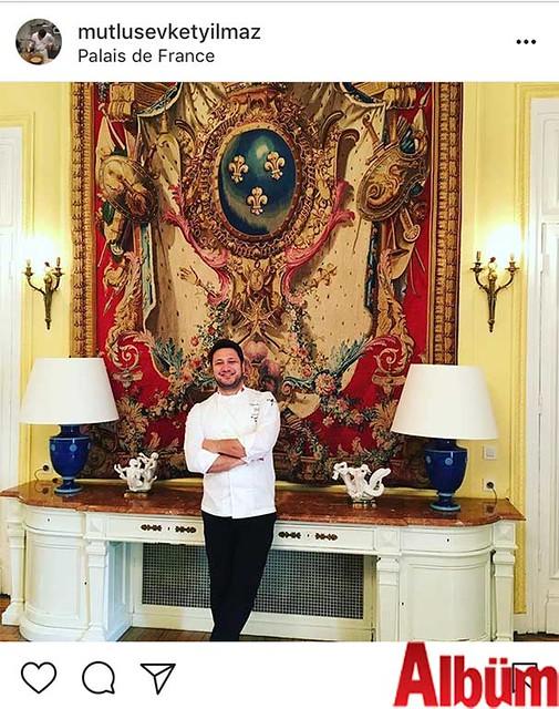 Seasons Restoran sahibi Şef Mutlu Şevket Yılmaz, İstanbul Fransa Başkonsolosluğu'nun daveti üzerine İstanbul Fransa Sarayı'nda Türkiye'nin önde gelen isimlerine yemek yaptı.