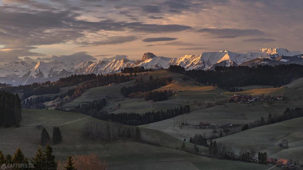 Sunrise - Naturpark Gantrisch