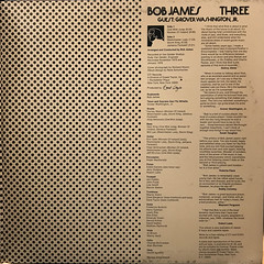 BOB JAMES:THREE(JACKET D)