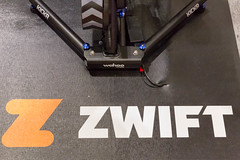 Zwift is a massively multiplayer online cycling