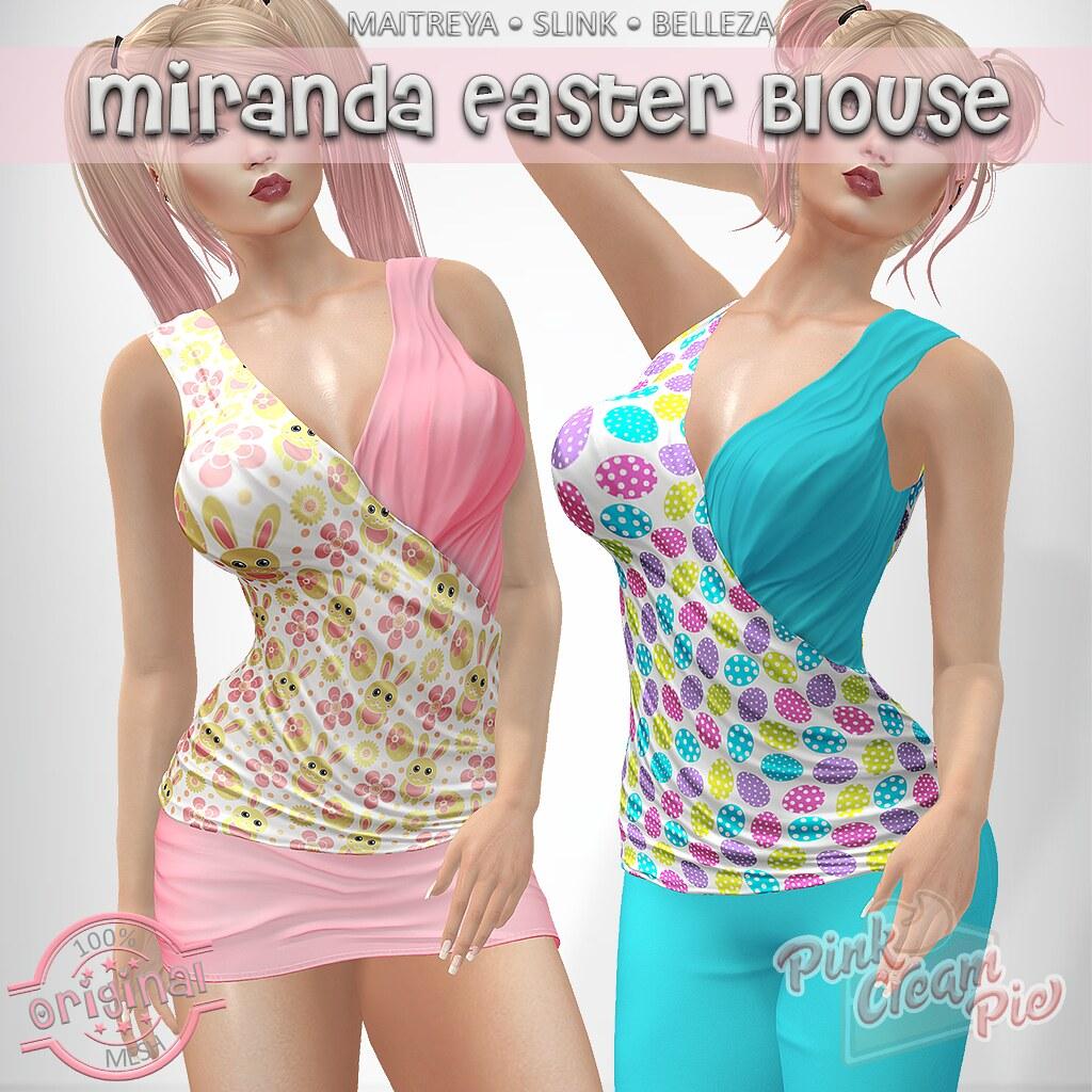 Miranda Easter Blouses @ Fly Buy Fridays!