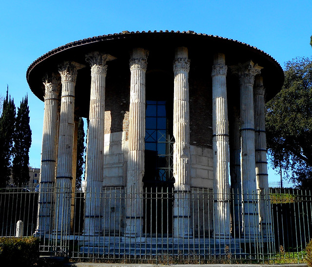 Temple of Victorious Hercules , called