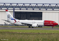 Norwegian Air International 737 MAX 8 EI-FYE