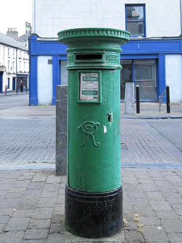 Irish post boxes